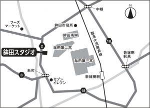 茨城鉾田スタジオの地図
